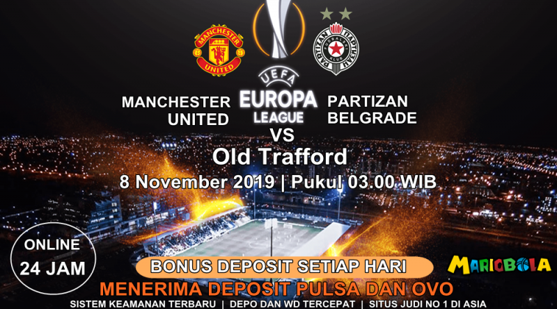 Man United vs Partizan Belgrade 08 November