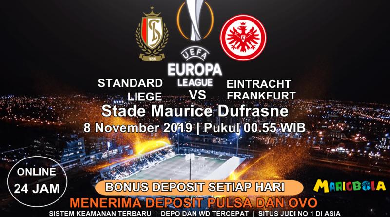 Standard Liege Vs Eintracht Frankfurt 08 November