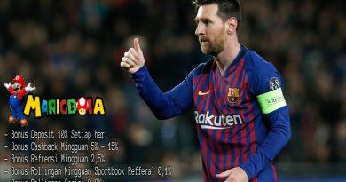 Messi Memecahkan Rekor LA Liga