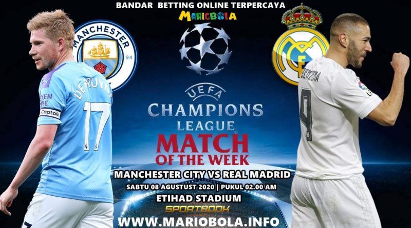 Manchester-CIty Akan Berduet Dengan Real Madrid