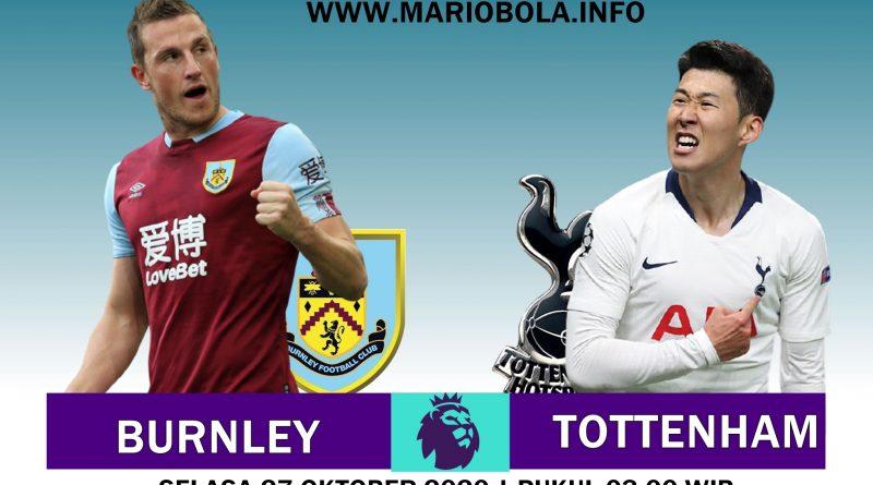 Duel Sengit Burnley Vs Tottenham Hotspur