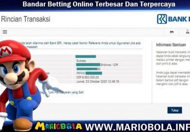 Jackpot Kemenangan Mario Bola 23 Oktober