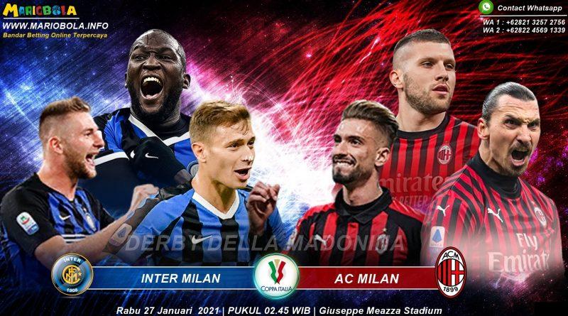 DERBYDELLAMADONINA Inter-Milan Melawan AC-Milan