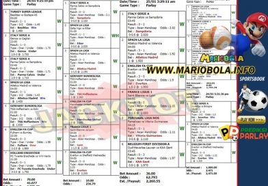 Kemenangan BESAR MARIOBOLA 25-Januari-2021