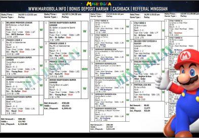 KEMENANGAN PARLAY MARIOBOLA 16-MEI-2021