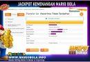 KEMENANGAN JACKPOT MARIOBOLA 15-MEI-2021